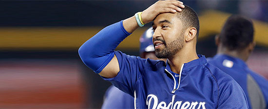 Osteochondral Lesion Knocks LA Dodger Matt Kemp out of Post Season