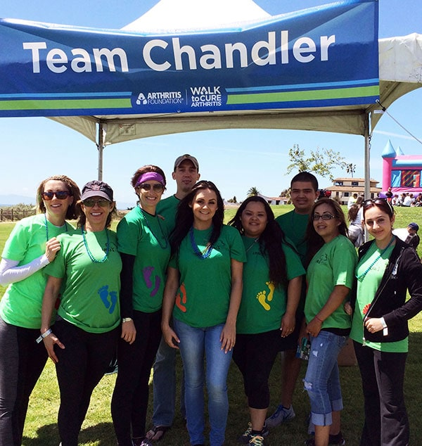 UFAI Santa Barbara Walks to Cure Arthritis