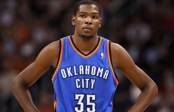 OKC Thunder's Kevin Durant Sidelined Again With Foot Injury