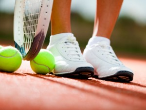 tennis feet, sports inuries
