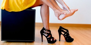 High heels and foor pain, foot arthritis