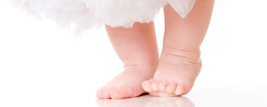 The Pitter-Patter of Healthy Baby Feet