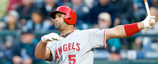 Plantar Plate Surgery for Angels' Slugger Albert Pujols