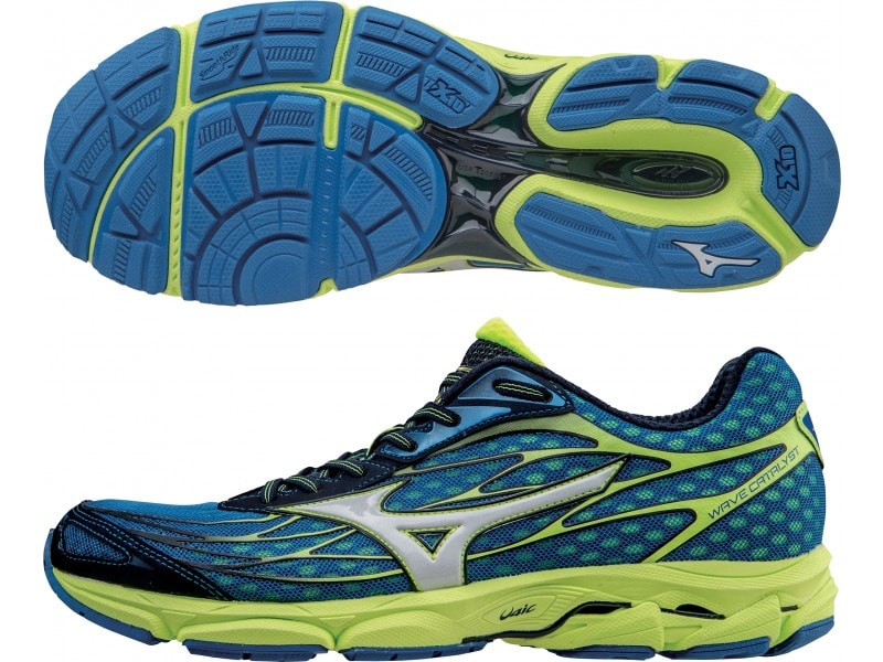 7d78b9378b The Mizuno Wave Catalyst is light-weight and neutral while providing good  cushioning.