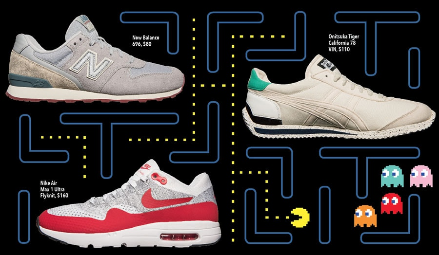 Pity Your Poor Feet, Vintage Running Shoes are Cool Again!