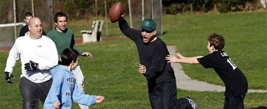 Slow Down, Tom Brady! Don't Let a Sprained Ankle Spoil your Thanksgiving Day Fun