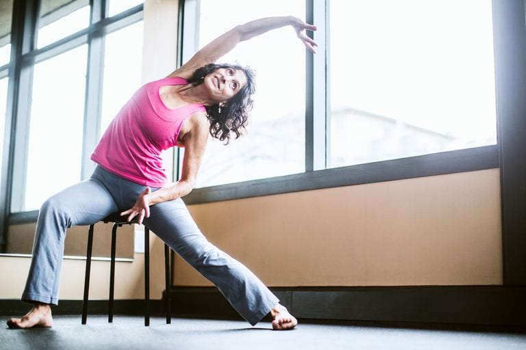 Chair Yoga for Seniors with Ankle Arthritis: Who Knew That Sitting Down Can Get You Up Walking with Less Pain?