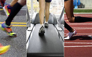 Running Surfaces and preventing plantar fasciitis