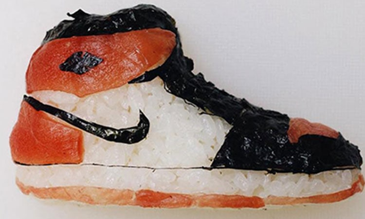 Sushi Shoes, edible shoes