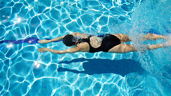Swimming and training for your first marathon