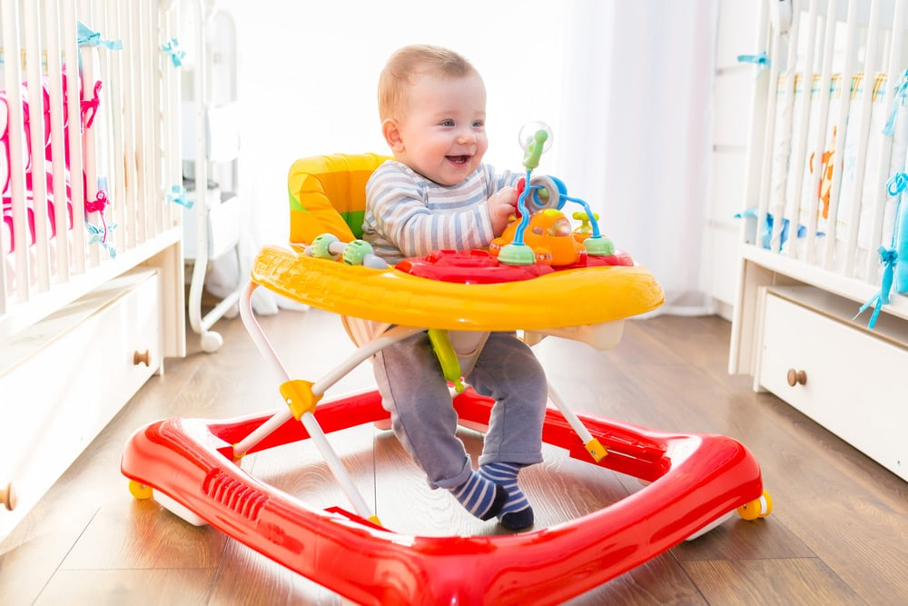 Are Baby Walkers and Jumpers a Hindrance in Learning to Walk? Apparently so.