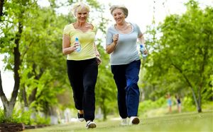 exercise and aging feet