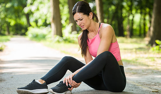 Marathon Foot and Ankle Pain