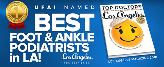 University Foot and Ankle Institute Doctors Named to LA Magazine's Top Doctors List
