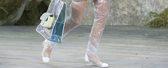 Plastic Shoes Are Back in Style and Our Foot Experts Predict What's Going to Happen Next (It's Not Pretty)