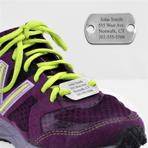 Running ID tags, Los Angeles Foot and Ankle Podiatrist