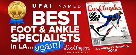 University Foot and Ankle Institute Again Named to LA Magazine's Top Docs List