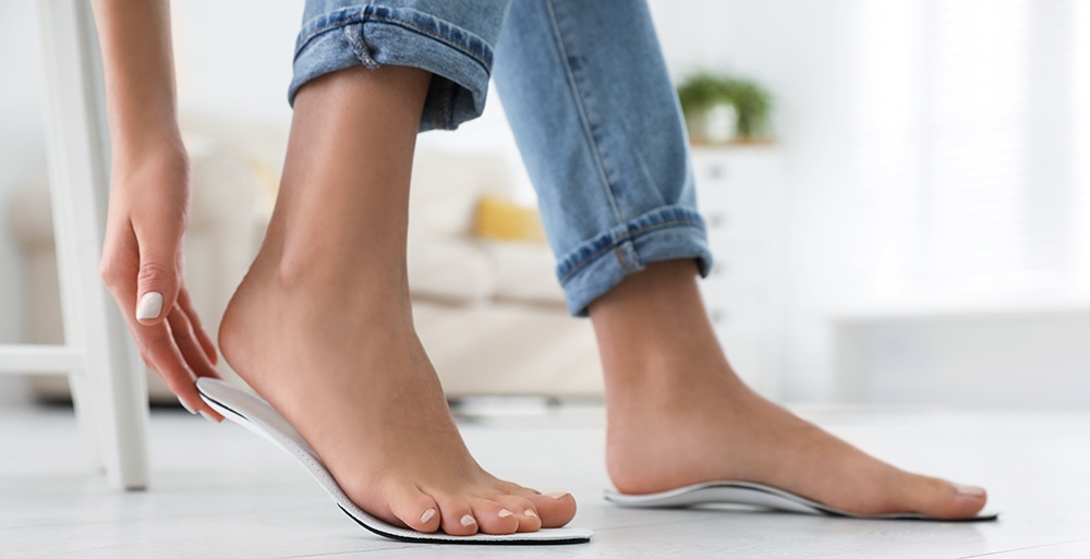 Orthopedics for foot arch pain