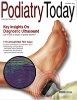 Podiatry Today, Dr. Bob Baravarian, Hallux Rigidus