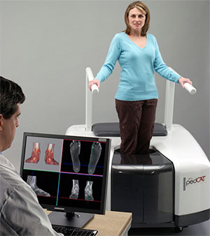 pedCat 3D CT Scanner at University Foot and Ankle Institute